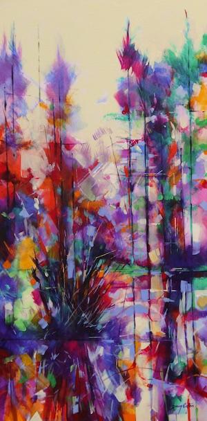 017-001-Meadowcliff Pond-landscape-painting-Doug-Eaton