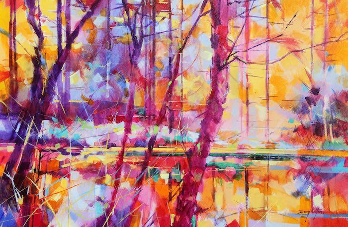 017-002-Meadowcliff-Pond-landscape-painting-doug-eaton